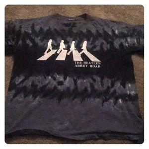 Abbey Road Tie Dye Beatles Shirt
